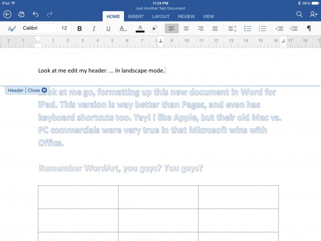 Is Microsoft Word For iPad Worth The Hype And The Price? - microsoft word