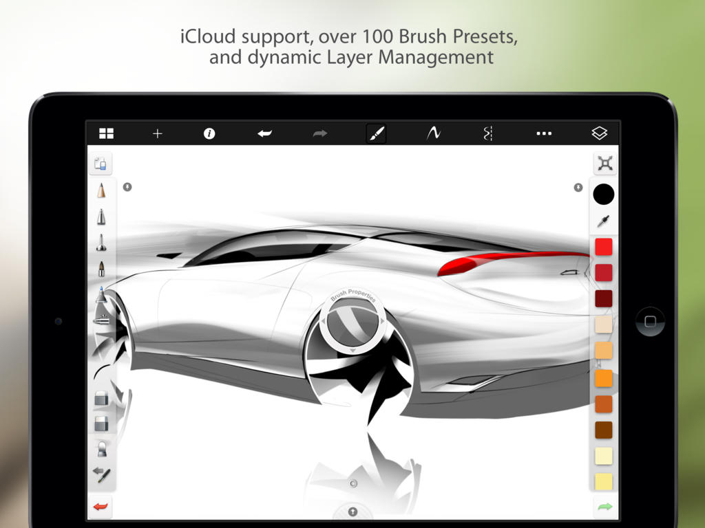 Zeichenprogramm Für Tablet Autodesk S Sketchbook For Iphone And Ipad Goes Free As Apple S App