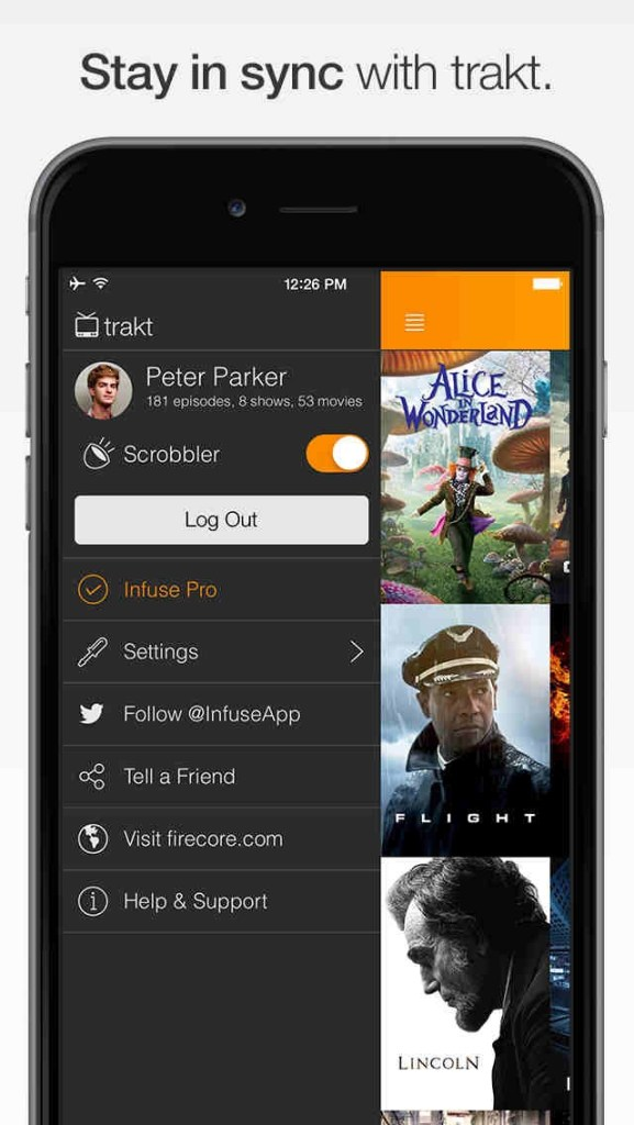 Infuse video player app gets infused with new Trakt syncing feature