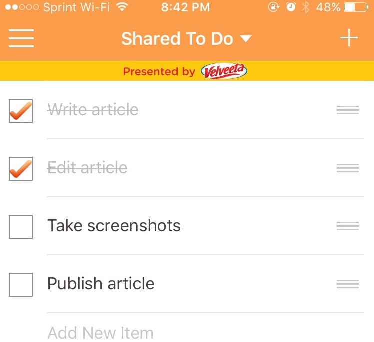 5 ways to share a to-do list with your significant other