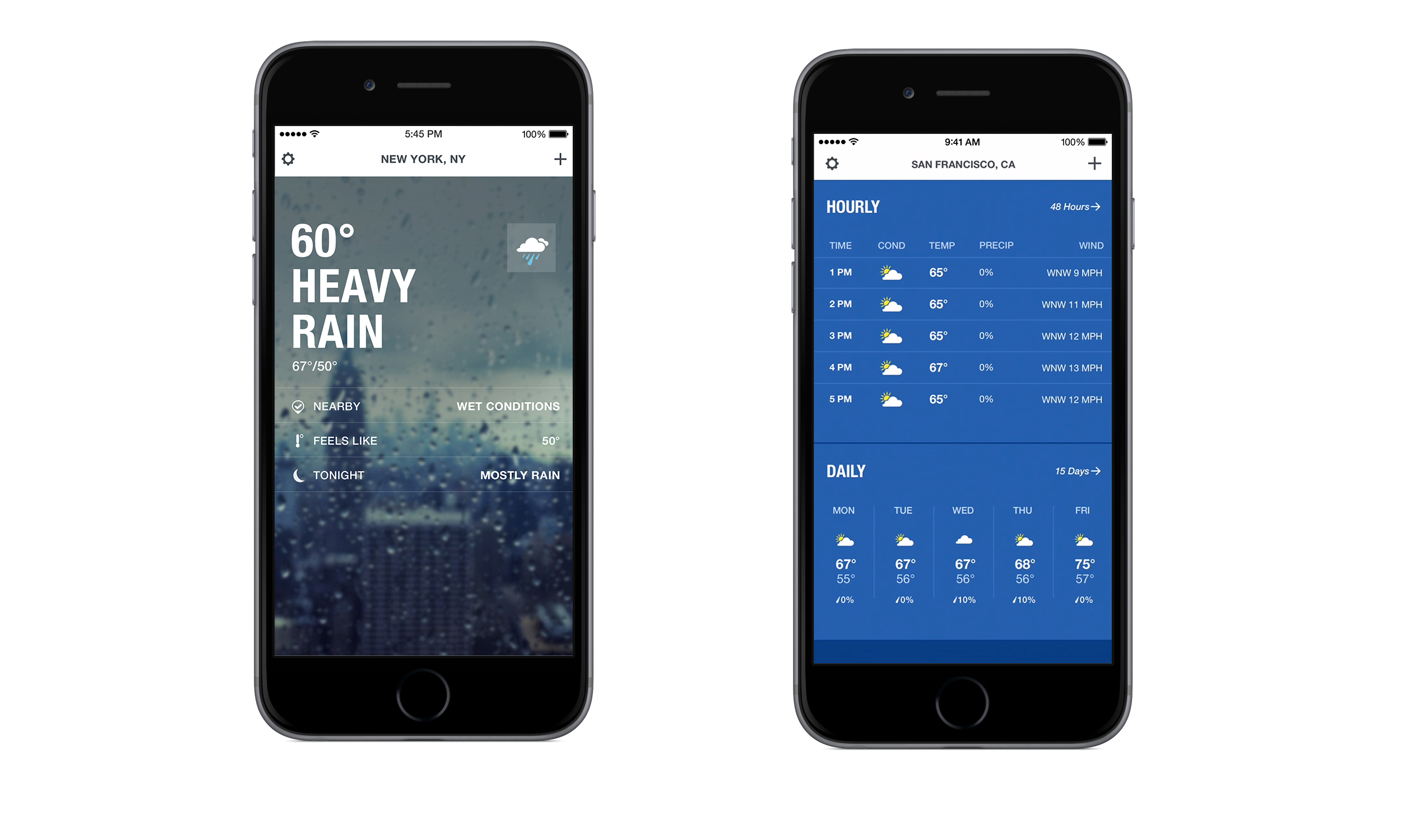 weather channel radar app for iphone