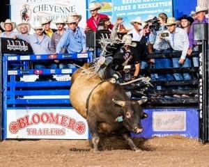 Navajo Nation Bull Riding Sensation Cody Jesus Rides Two