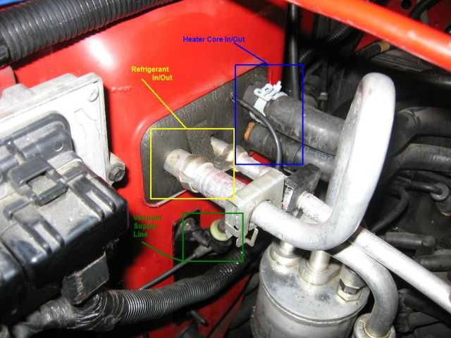 2010 Jeep Liberty Wiring For A Heater For The Electrical Circuit