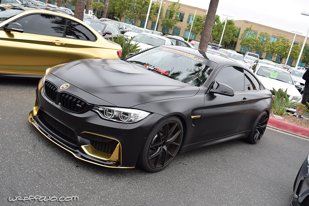 Satin Black Bmw M4 Wrap Wrapfolio