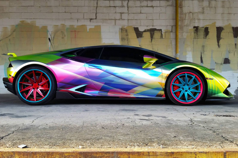 Chrome Car Wrap >> Psycho Hurricane | Wrapfolio