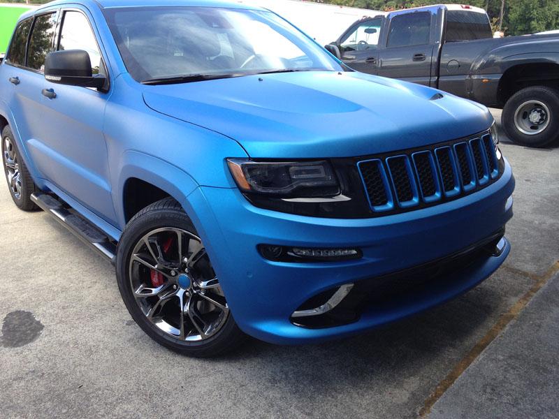 Matte Blue Car Paint