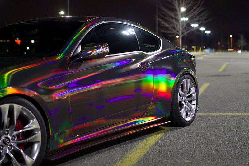 How Much Does Iridescent Car Paint Cost