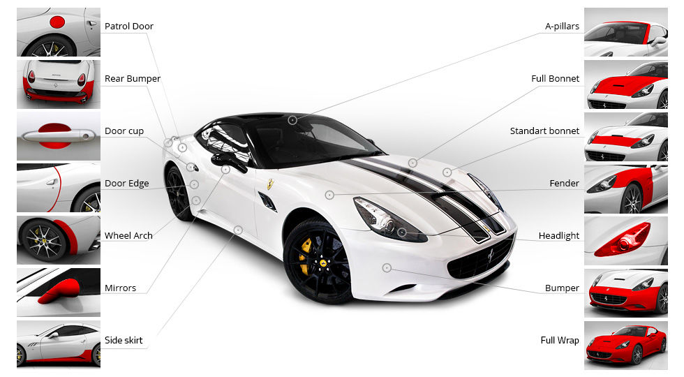 3m paint protection films wrapit solutions for Car paint cost