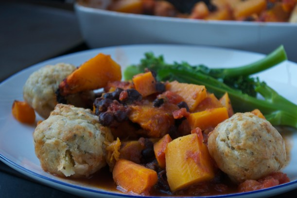 Cozy Vegan Recipes right for the Season-Squash stew