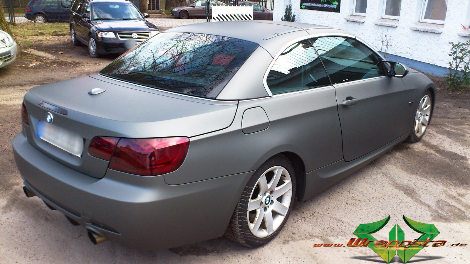 Anthrazit Metallic Bmw Bmw 3 Ultra Matt Anthrazit Metallic Wrappsta Berlin
