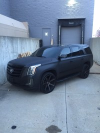 Cadillac Escalade - Obsidian Black Brushed Metal With ...