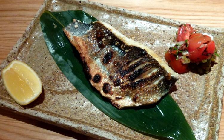 Robata grilled seabass at zuma