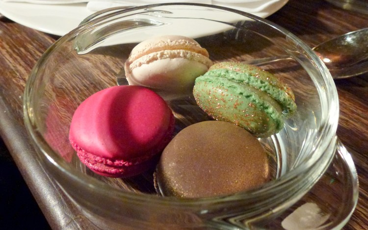 Macarons at little social restaurant london