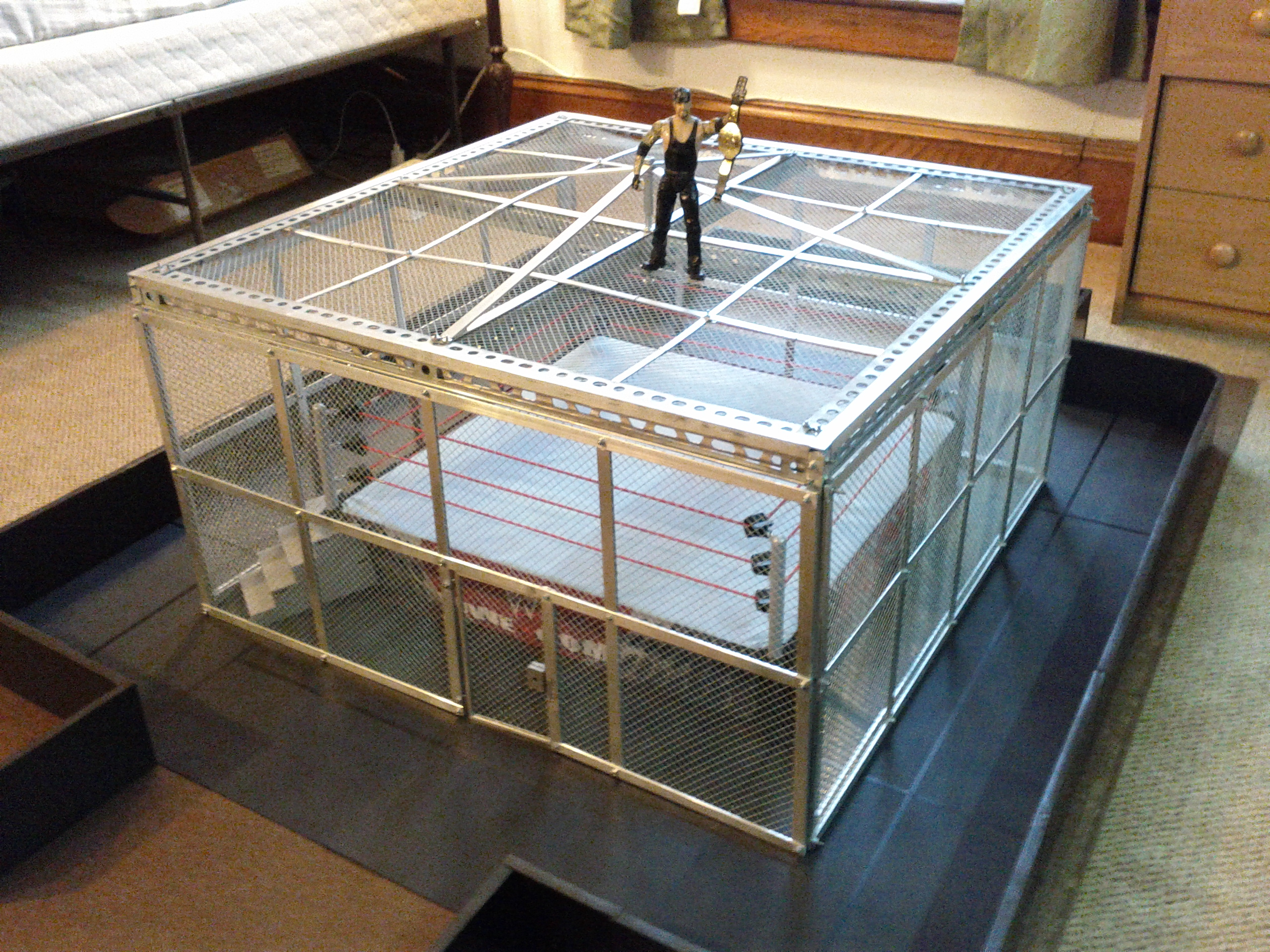 Quoti Set Out To Create The Best Custom Wrestling Ring Ever