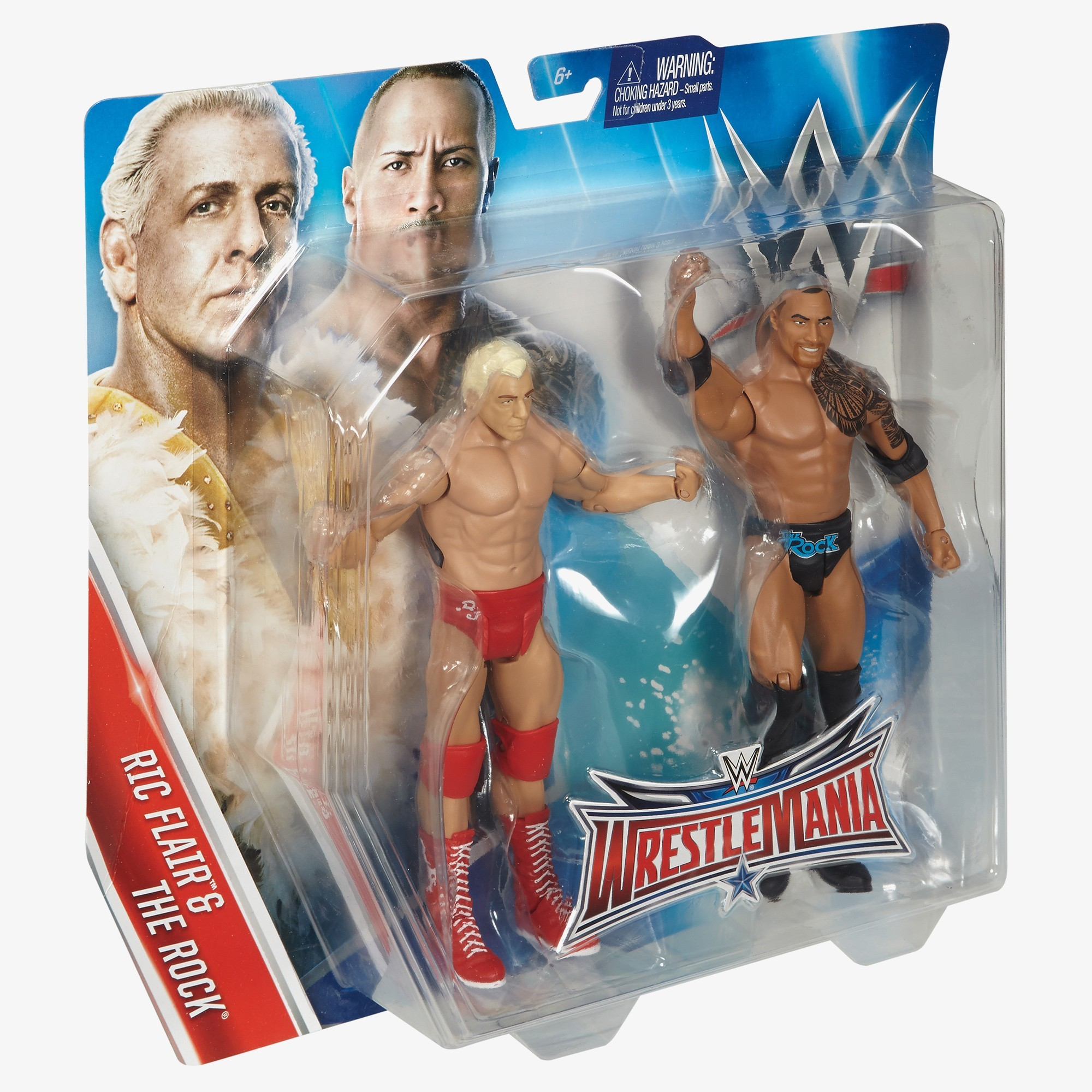 Wrestling Bettwäsche Ric Flair And The Rock Wwe Battle Pack Wrestlemania 32 Series