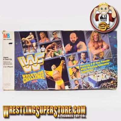 WWE Wrestling Challenge Board Game
