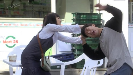 Gong-Shim from The Beautiful Gong Shim: hilarious, and has one of the loveliest male characters I've seen yet.