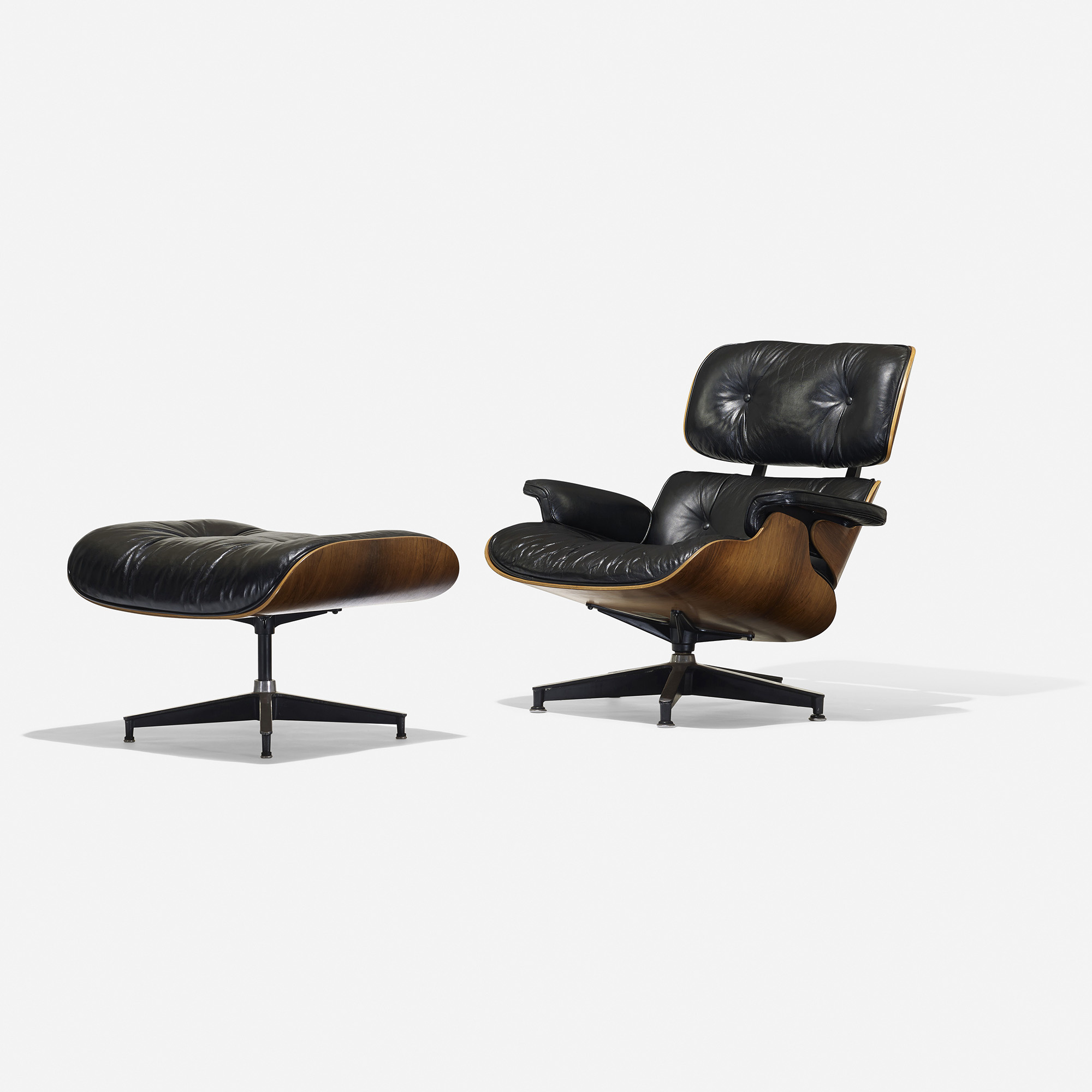 Eames 108 108 Charles And Ray Eames 670 Lounge Chair And 671 Ottoman