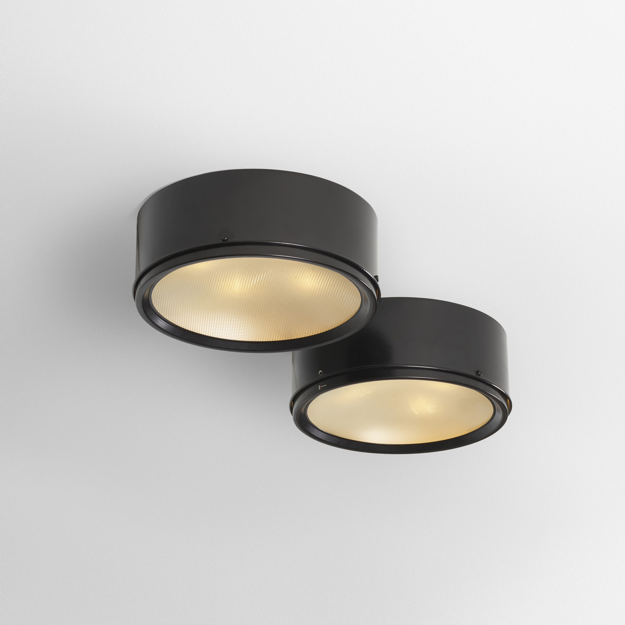 Lights Ceiling 336 Gino Sarfatti Ceiling Lights Model 3055 37 Pair Design 8