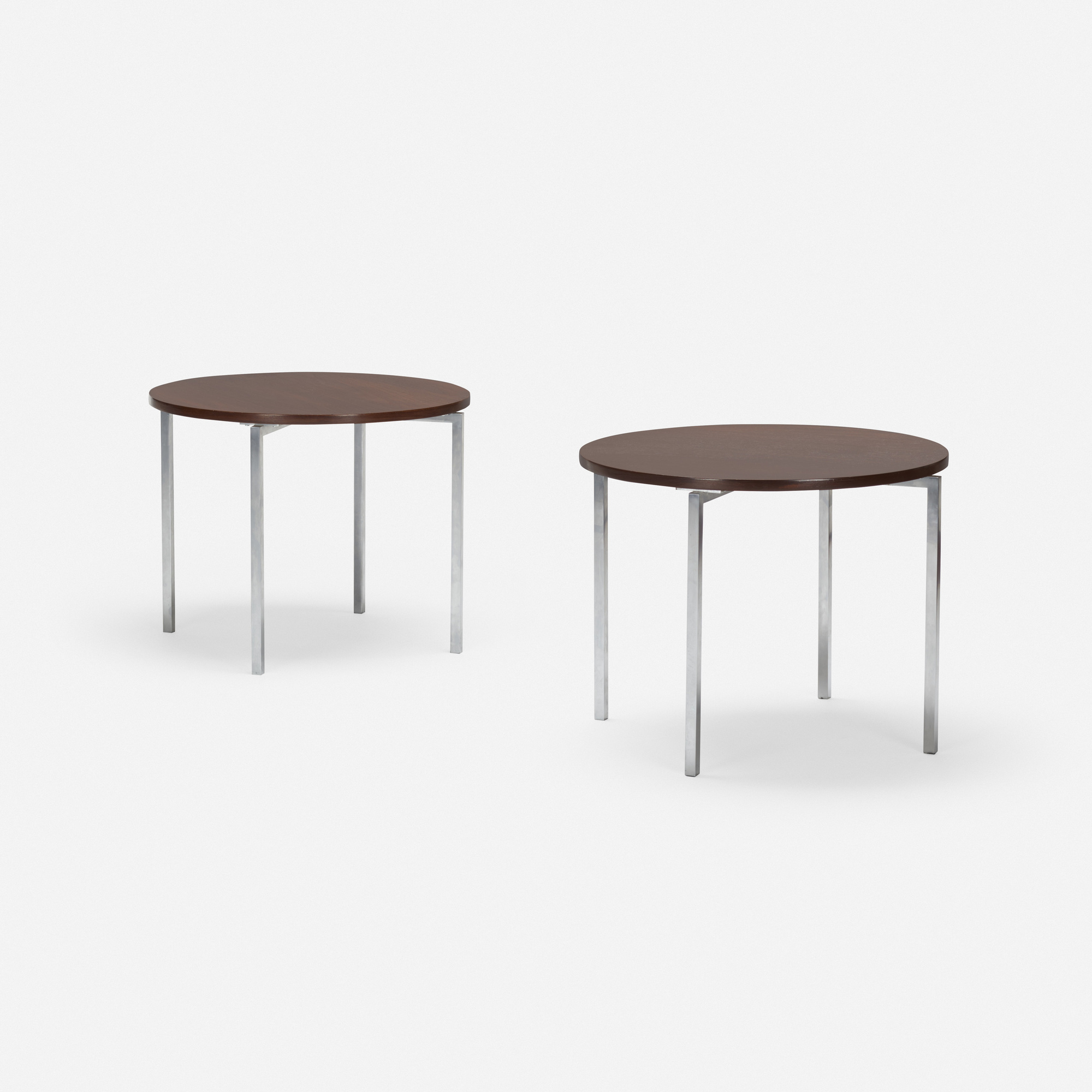 Tables Knoll 659 Florence Knoll Occasional Tables Pair American Design 20