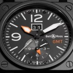 Bell & Ross BR03-51 GMT Carbon Watch