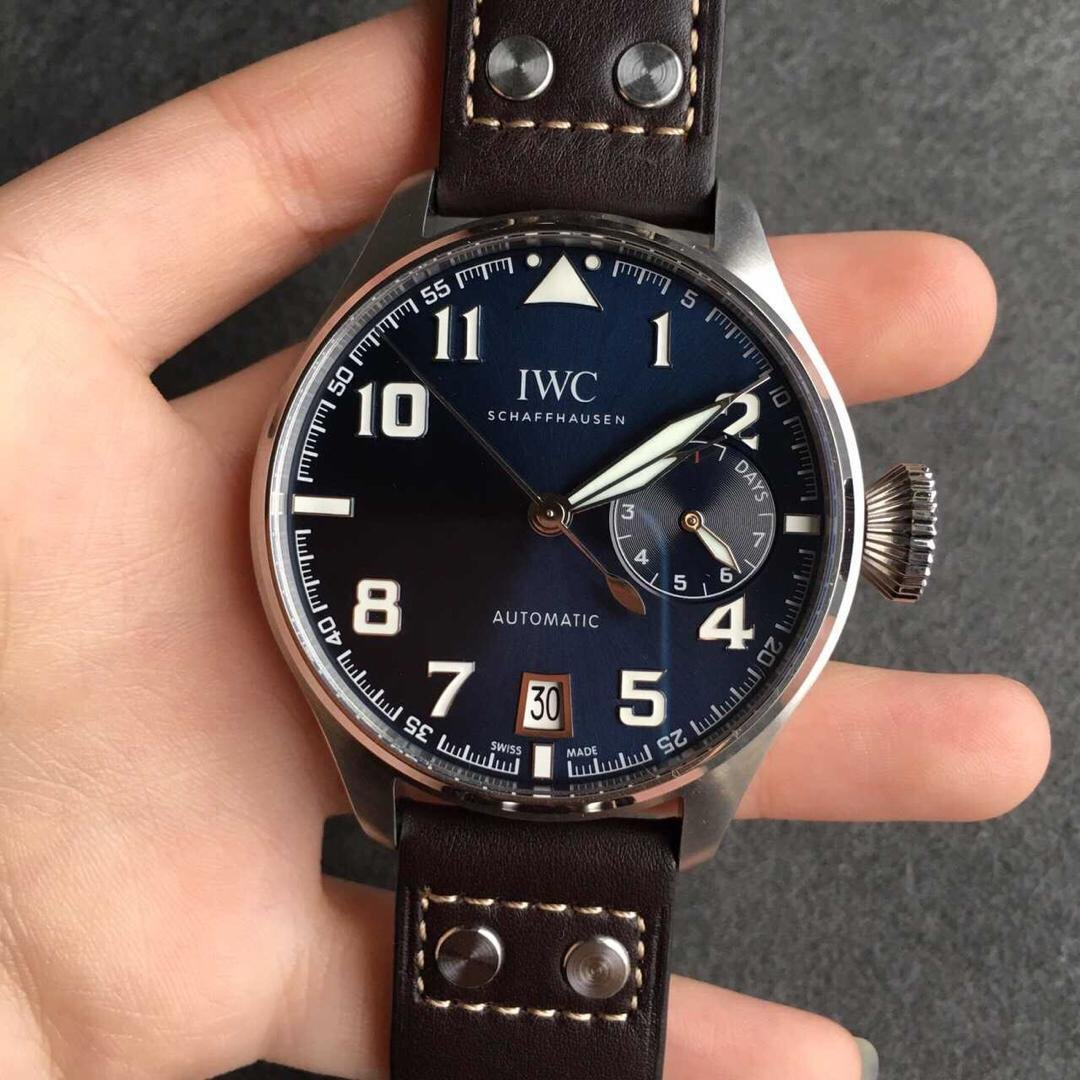 Iwc Replica Zf Published Replica Iwc Big Pilot Le Petit Prince Iw500908 Blue