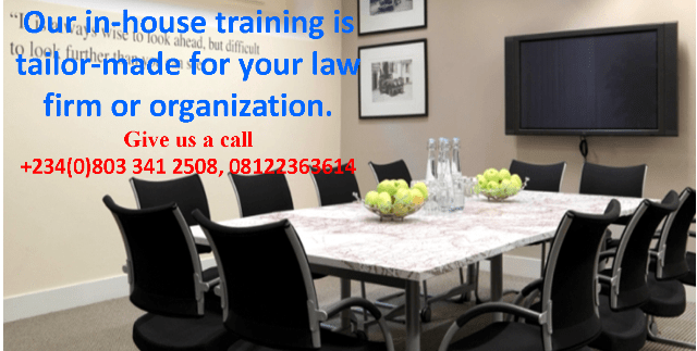 The Write House In-house Training