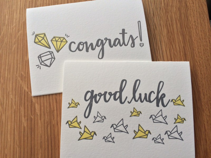 writejoybell - good luck cards to print