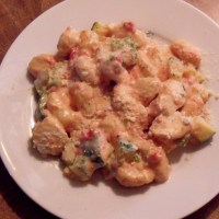 Chicken and Gnocchi in Creamy Sundried Tomato Sauce