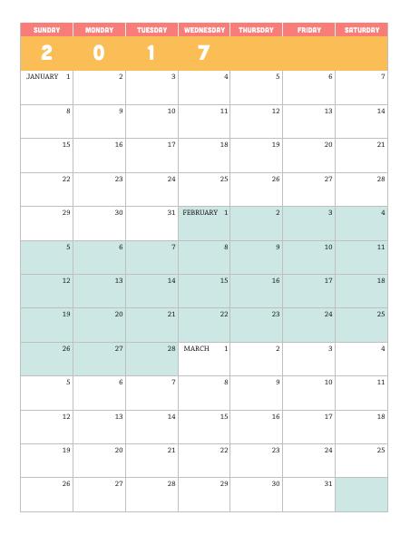 2016 Whole Year Calendar Printable Free 2016 Yearly Calendar Template 07 Free Printable Templates Printable 2017 Quarterly Calendar – Lara Willard