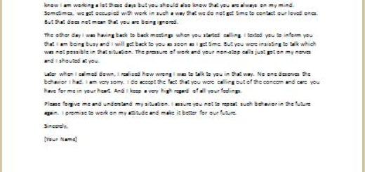 Apology Letter For Hurt Feelings - Aildocproductosebapology letter