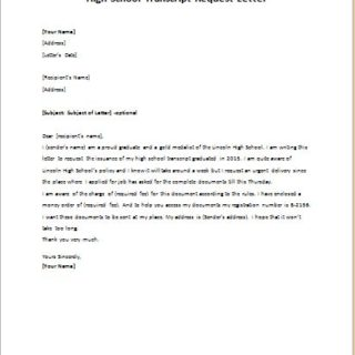 Sample letter requesting transcript from college sample document sample letter requesting transcript from college writing a transcript request letter with sample transcript letter related spiritdancerdesigns Image collections