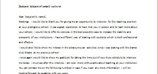 Sample Thank You Letter For Attending Seminar Thank You