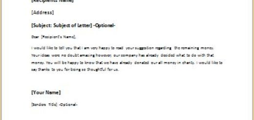 Letter Responding Negatively to a Suggestion writeletter2