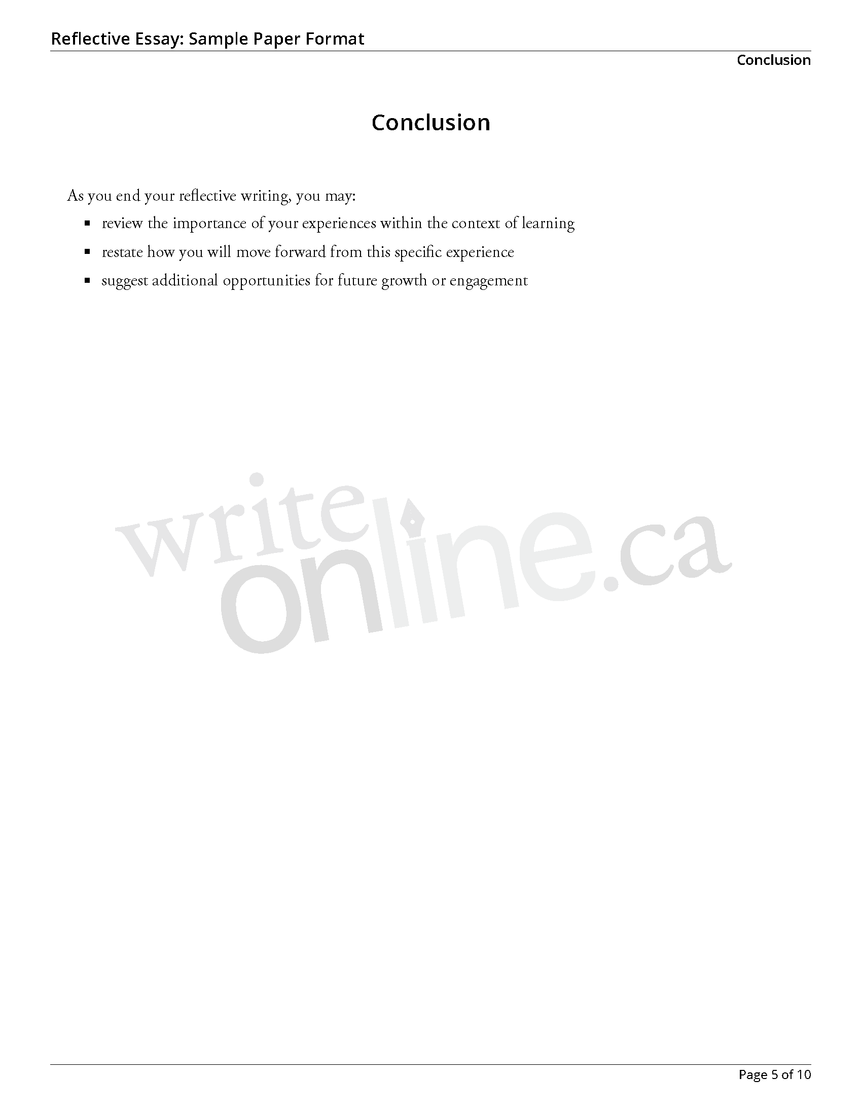 reflective essay topics examples reflective essay nursing well  nursing essay using gibbs reflective argumantative essay topics reflectiveessay sample page 5 nursing essay using gibbs