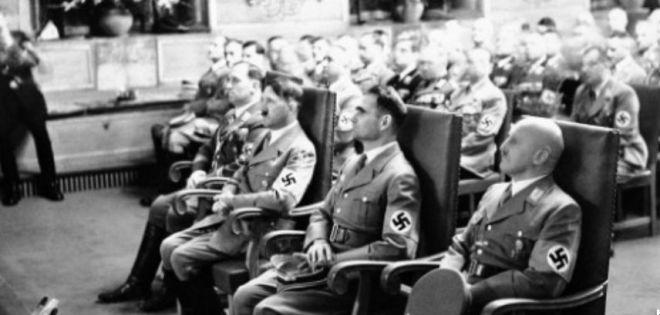 Hitler's left-hand man.