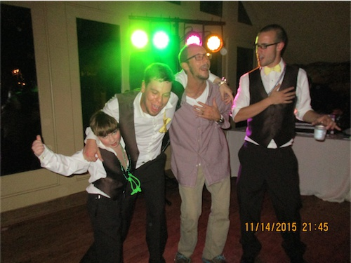 This is how they do weddings in Georgia. It got pretty crazy! At one point in the dancing, I thought the floor was going to break!