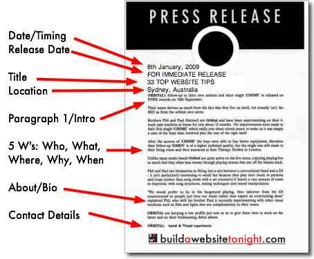 How To Write a Press Release - Arts Spark
