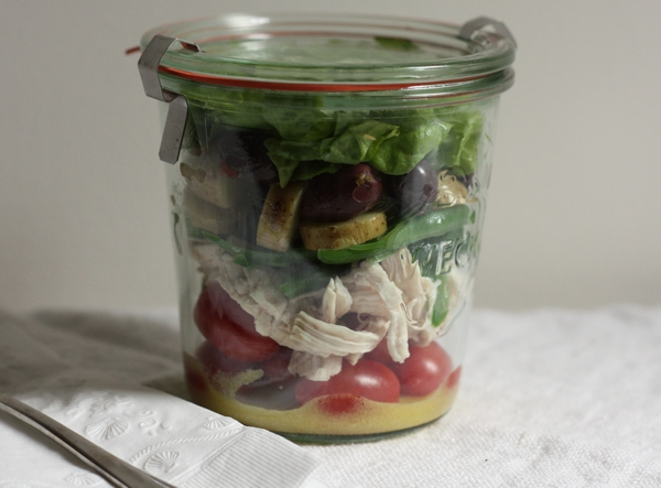 French Picnic Salad in a Jar | writes4food.com