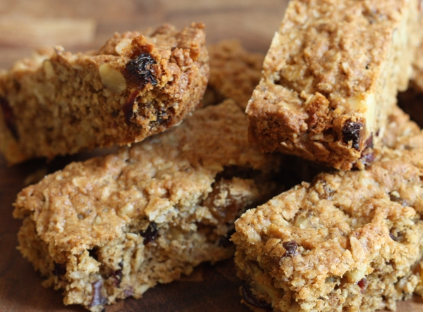easy oatmeal bar cookie recipe | writes4food.com