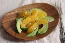 easy orange-avocado salad recipe   writes4food.com