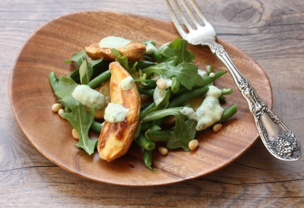 roasted potato and green bean salad | writes4food.com