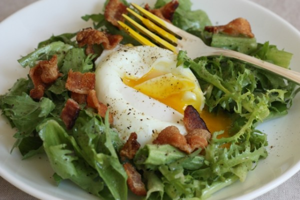 salade lyonnaise recipe | writes4food.com