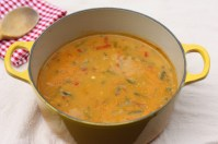 recipe for low-fat, low-calorie vegetable soup