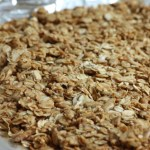 savory granola recipe | writes4food.com