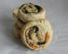 prosciutto-arugula puff pastry appetizers   writes4food.com