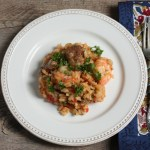 jambalaya-style risotto recipe | writes4food.com