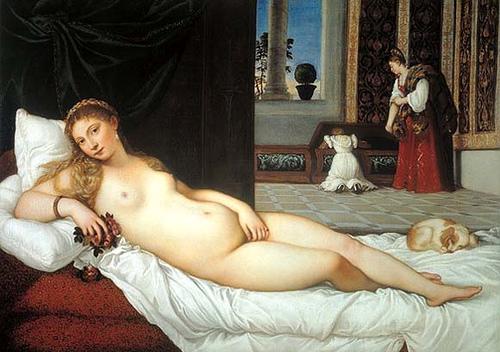 Titian's Venus of Urbino