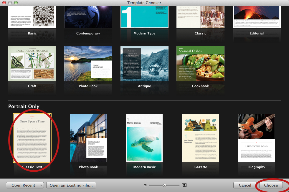 How to Customize iBook Author Templates Writing Is Hard Work