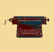 Beige-Typewriter